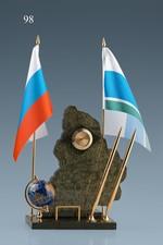 Мини письменный прибор с символикой субъекта РФ